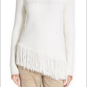 Theory Hudina Fringe Sweater